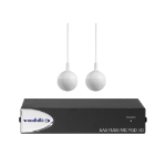 Vaddio EasyUSB MicPOD I/O with Two CeilingMICs (white)