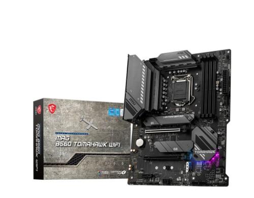 MSI MAG B560 TOMAHAWK WIFI motherboard Intel B560 LGA 1200 ATX