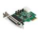 StarTech.com Tarjeta Adaptadora PCI Express Serie de 4 Puertos RS232 - UART 16950 - Perfil Bajo