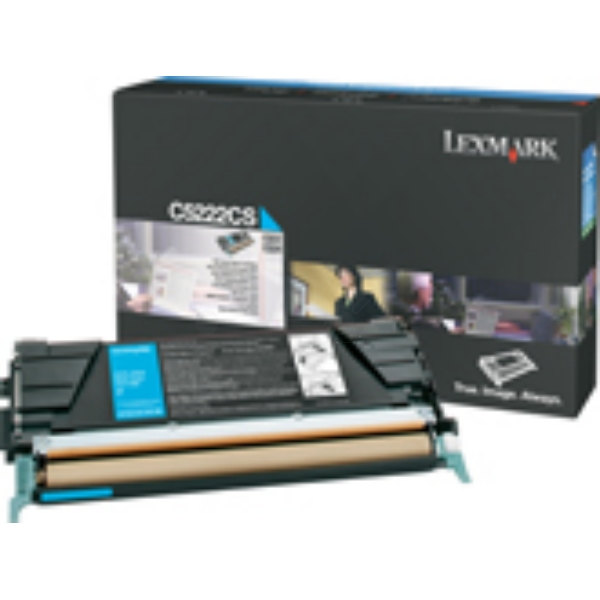 Lexmark C522A3CG Toner cyan, 3K pages @ 5% coverage