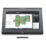 "Wacom DTK-2241 touch screen monitor 54.6 cm (21.5"") 1920 x 1080 pixels Black, Grey Table"