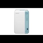 QNAP TS-251D J4005 Ethernet LAN Tower Blue,White NAS