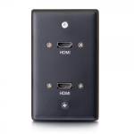 C2G 39879 wall plate/switch cover Black