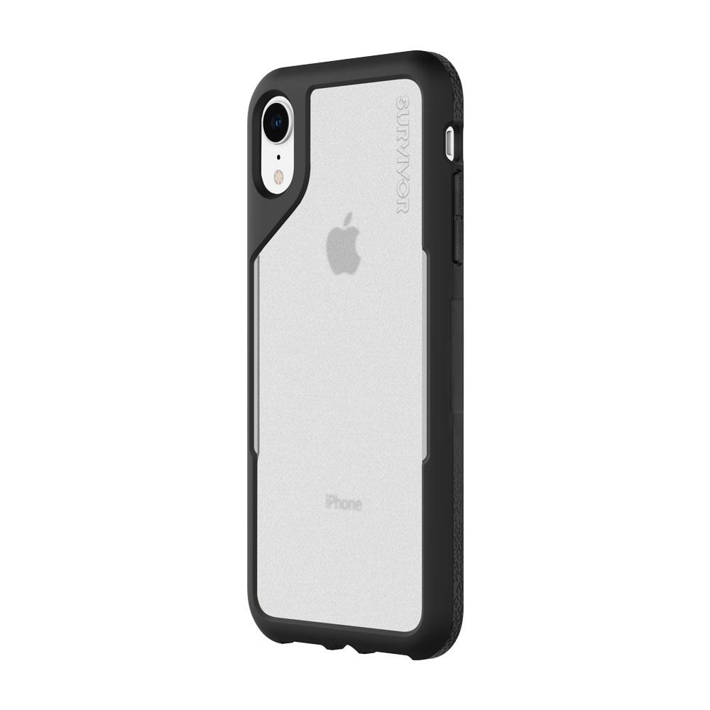 "Incipio Survivor Endurance mobile phone case 15.5 cm (6.1"") Cover Black,Grey,Transparent"