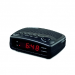 Conair WCR02 Clock Digital Black Clock/Portable Radio