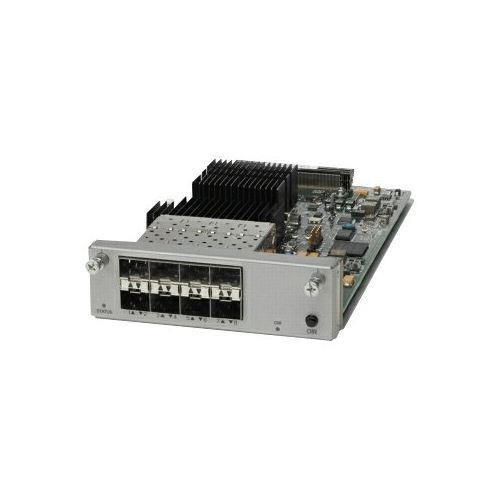 Cisco 8-Port 10 Gigabit Ethernet Network Module - Expansion module - 10 GigE - 8 ports - for Catalyst 4500