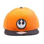 Star Wars Resistance Logo Embroidered Patch Snapback Baseball Cap, One Size, Orange/Black (SB150825STW)