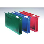 Rexel Crystalfile Classic A4 Suspension File 30mm Green (50)