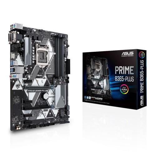 ASUS PRIME B365-PLUS motherboard LGA 1151 (Socket H4) ATX Intel B365
