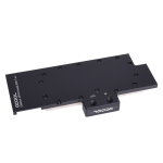 Alphacool 11667 computer cooling component Graphics card Backplate Black, Metallic