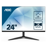 "AOC 24B1H computer monitor 59,9 cm (23.6"") Full HD LED Flat Mat Zwart"