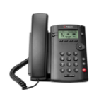 POLY VVX 101 IP phone Black Wired handset LCD 1 lines