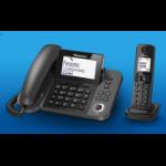 Panasonic KX-TGF320E DECT Caller ID Black telephone