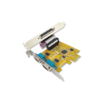 Sunix MIO6479A PCIE 2-port Serial RS-232 & 1-port Parallel IEEE1284 Card