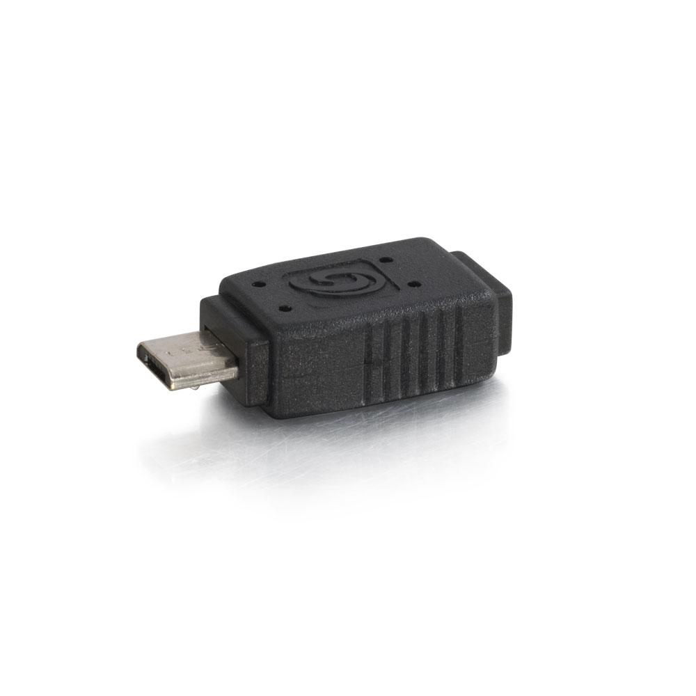 C2G USB Mini-b To Micro-b Adapter - Black (81689)