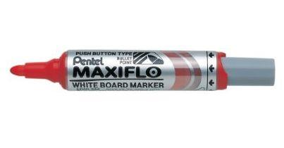Pentel MWL5M-BO marker 12 pc(s) Red Bullet tip