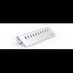 Aerocool ACAH-R3A0000-31 USB 3.0 (3.1 Gen 1) Type-A 5000Mbit/s Aluminium interface hub