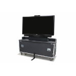 "Infocus CA-ATALIFT65 65"" Portable flat panel floor stand Black,Metallic flat panel floorstand"