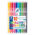 Staedtler 338 SB10 felt pen Multicolor 10 pc(s)
