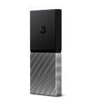 Western Digital My Passport 256 GB Black, Silver