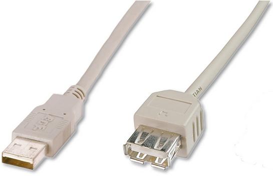 ASSMANN Electronic AK-300202-030-E USB-kabel 3 m 3.2 Gen 1 (3.1 Gen 1) USB A Beige