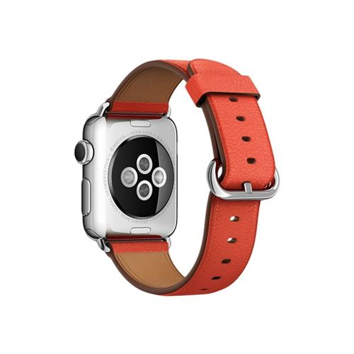 Apple 38mm Classic Buckle - Watch strap - red - for Watch (38 mm), Watch Edition (38 mm), Watch Herm�s (38