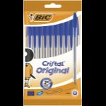 BIC 830863 ballpoint pen Blue Stick ballpoint pen 10 pc(s)