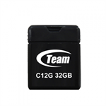 Team Group C12G 32GB USB 2.0 Type-A Black USB flash drive