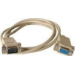 Microconnect DB9-DB9 10m DB9 DB9 Grey cable interface/gender adapter