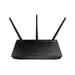 ASUS RT-N66U Dual-band (2.4 GHz / 5 GHz) Gigabit Ethernet Zwart draadloze router