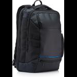 HP Recycled backpack Polyvinyl Butyral (PVB),Polyethylene terephthalate (PET) Black