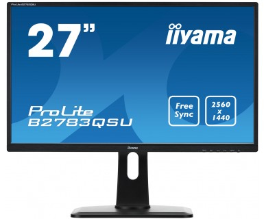 "iiyama ProLite B2783QSU-B1 27"" Wide Quad HD TN Black LED display"