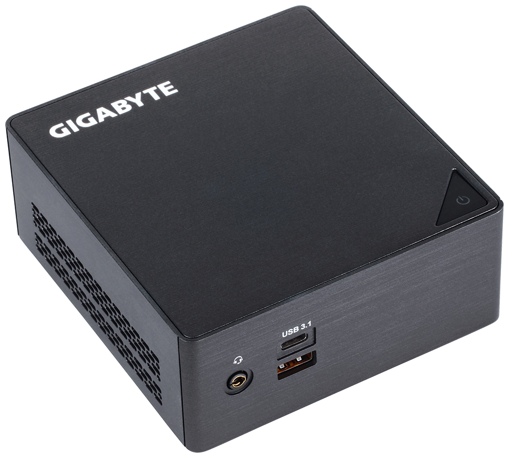 Gigabyte GB-BKi7HA-7500 (rev. 1.0) 2.7GHz i7-7500U 0.6L sized PC Black