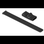 Honeywell 8680I505FNGRSTRAP correa Equipo móvil portátil Negro