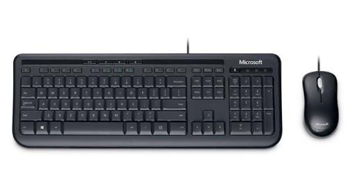Microsoft Wired Desktop 600 keyboard USB Black