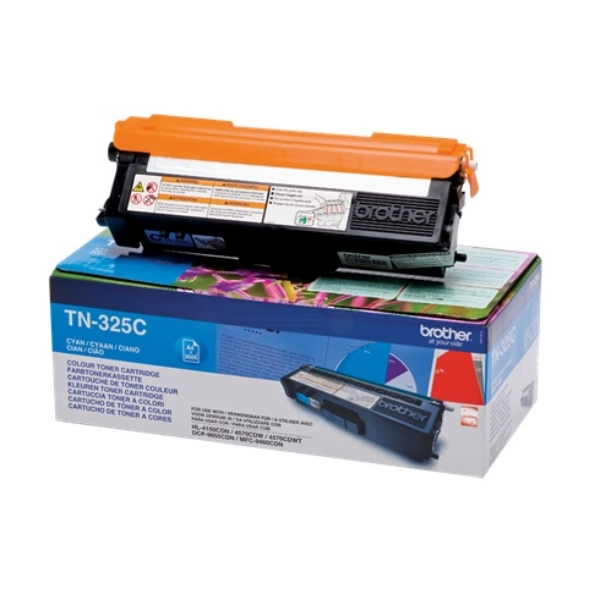 Brother TN-325C Toner cyan, 3.5K pages