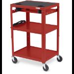 Bretford MIC Cart Red 34 lbs (15.4 kg)