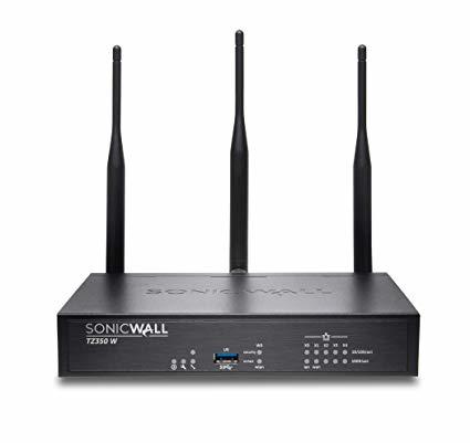SonicWall TZ350 cortafuegos (hardware) 335 Mbit/s Escritorio