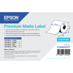 Epson Premium Matte Label - Continuous Roll: 105mm x 35m