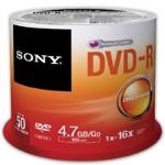 SONY DVD-R SONY 4.7 GB CON 50 PIEZAS dir