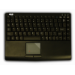 Adesso Slim Touch Mini Keyboard with built in Touchpad (Black) USB QWERTY Black