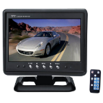 "Pyle PLHR79 7"" 1440 x 234pixels Black car TFT monitor"