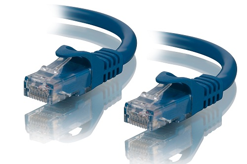 ALOGIC 0.5m Blue CAT5e network Cable