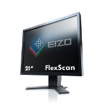 "EIZO FlexScan S2133 21.3"" IPS Black computer monitor"