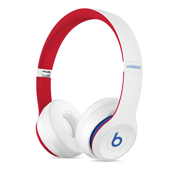 Beats Solo3 Wireless Headphones Beats Club Collection White