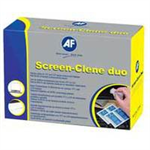 AF SCREENCLENE 100 WET/WET SACHETS