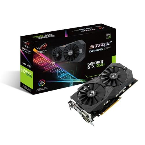 ASUS STRIX-GTX1050TI-O4G-GAMING GeForce GTX 1050 Ti 4 GB GDDR5