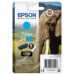 Epson Elephant Cartucho 24XL cian