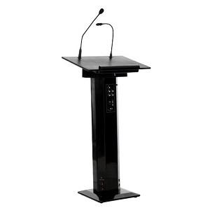 Sapphire AV SSLECT2B multimedia cart/stand Black Projector Multimedia stand