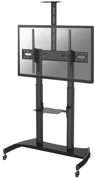 MOBILE FLOOR STAND 60/100IN BLK VESA400X400 TO 1000X600MM